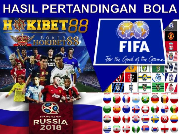 Hasil Pertandingan Sepak Bola